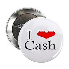 "I Heart Cash 2.25"" Button (10 pack)"