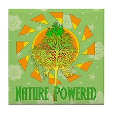 Nature Powered Tile Coaster
