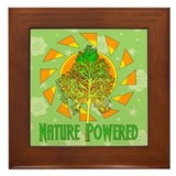 Nature Powered Framed Tile