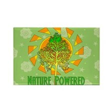 Nature Powered Rectangle Magnet