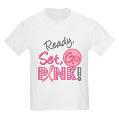 Breast Cancer Go Pink Kids Light T-Shirt