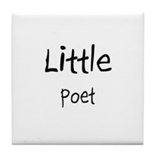Little Poet Tile Coaster