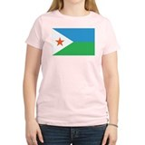 DJIBOUTI Womens Light T-Shirt