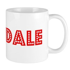 Retro Palmdale (Red) Mug