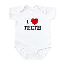 I Love Teeth Infant Bodysuit