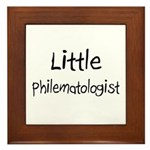 Little Philematologist Framed Tile
