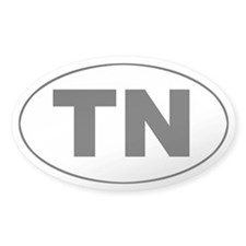 TN (Tennessee) Oval Decal