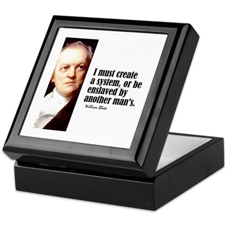 "Blake ""Create a System"" Keepsake Box"