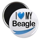 I Love My Beagle 2.25