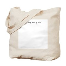 Je blog (handwriten)  Tote Bag