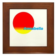 Annabella Framed Tile