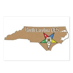 North Carolina OES Postcards (Package of 8)