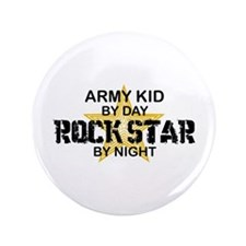 "ARMY Kid Rock Star 3.5"" Button"