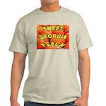 Sweet Georgia Peach Ash Grey T-Shirt
