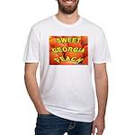 Sweet Georgia Peach Fitted T-Shirt