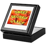 Sweet Georgia Peach Keepsake Box
