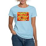 Sweet Georgia Peach Women's Pink T-Shirt