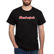 Retro Lumberjack (Red) T-Shirt