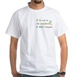 Scrapbooking Facts White T-Shirt