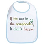 Scrapbooking Facts Bib