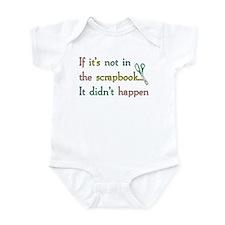 Scrapbooking Facts Infant Bodysuit
