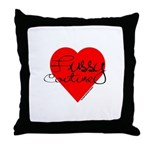 Fussy Couture Throw Pillow