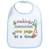 Making Memories Bib