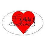 Fussy Couture Oval Sticker