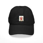 BOURBEAU Family Crest Black Cap