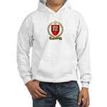 BOURBEAU Family Crest Hooded Sweatshirt