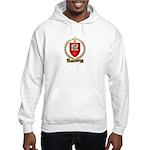 BOURBEAU Family Crest Hooded Sweatshirt