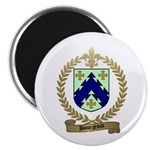 BOURGEOIS Family Crest Magnet
