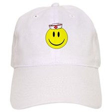 RN Nurse Happy Face Cap