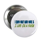 I live on a farm 2.25&quot; Button