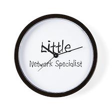 Little Network Specialist Wall Clock
