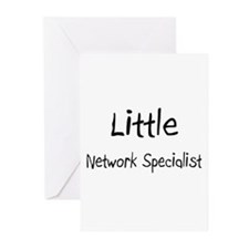 Little Network Specialist Greeting Cards (Pk of 10