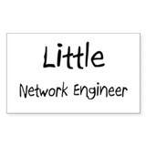 Little Network Engineer Rectangle Decal