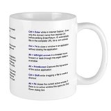 Keyboard ShortCup Mug