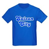Retro Suisun City (Blue) T