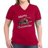Motorcycle Santa Shirt