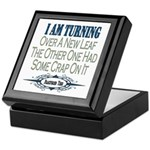 New Leaf Keepsake Box