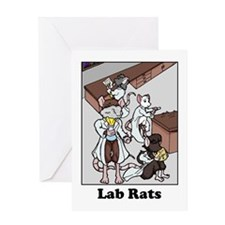 Lab Rats Greeting Card