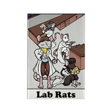 Lab Rats Magnet (10 pack)