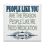 Medications Tile Coaster