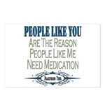 Medications Postcards (Package of 8)