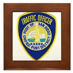 San Diego Port PD Framed Tile