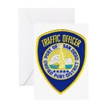 San Diego Port PD Greeting Card