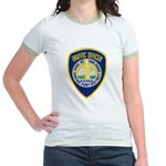 San Diego Port PD Jr. Ringer T-Shirt