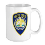 San Diego Port PD Large Mug