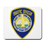 San Diego Port PD Mousepad